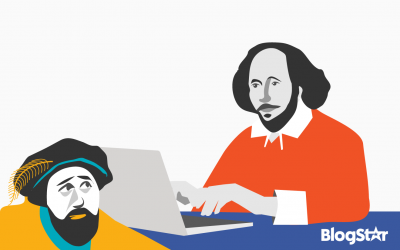 Who is writing your blog? Shakespeare or Blogrick?