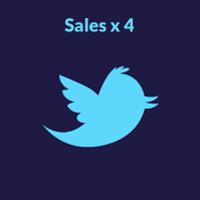 twitter vs instagram sales twitter